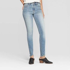 Universal Thread high rise skinny blue jeans